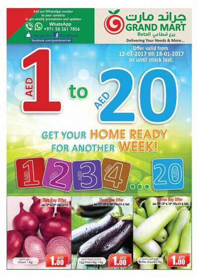 grand mart offers